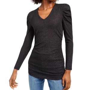Ruched Shine Top